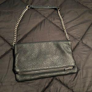 Black express clutch purse